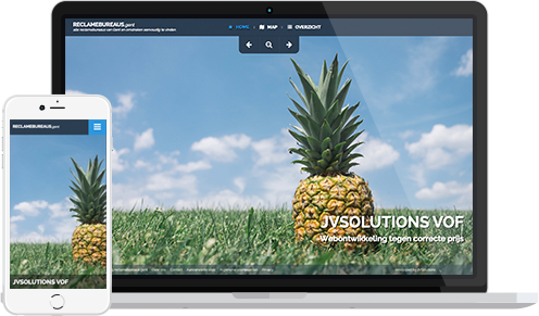 Homepagina voorbeeld Loungebar
